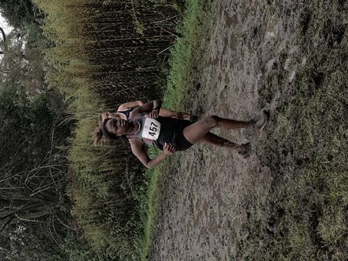 all this mud couldn't stop Morayo from a PR