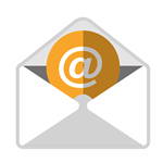 Envelope icon that links to email sign up