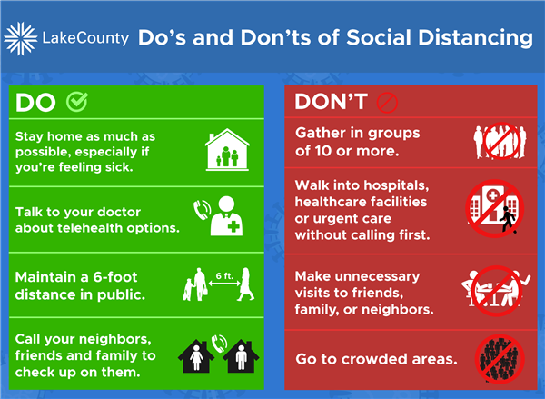 Lake County Social Distancing