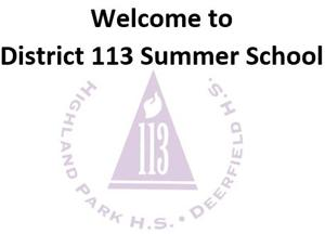 District 113